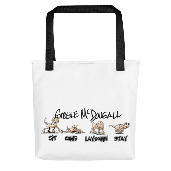 Tim's Wrecking Ball Crew Hound Commands Tote bag