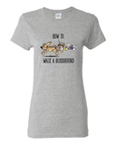 How to Walk a Hound Women's short sleeve t-shirt - The Bloodhound Shop
