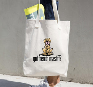 More Dogs Got French Mastiff? Tote bag - The Bloodhound Shop