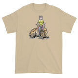 Three Rescue Hounds Short sleeve t-shirt