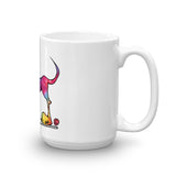 Tie-Dye Hound Mug - The Bloodhound Shop