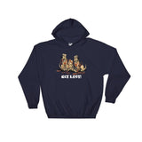 Get Lost Hounds Dark Hoodie - The Bloodhound Shop