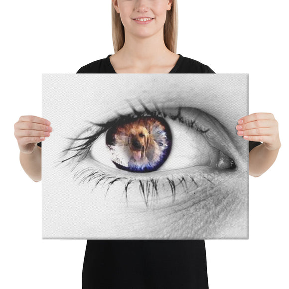 Eye of the Hound Melinda 1 Canvas - The Bloodhound Shop