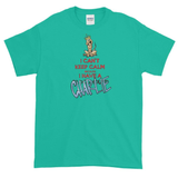 Tim's Keep Calm Charlie Short sleeve t-shirt - The Bloodhound Shop