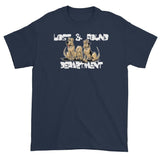 Lost & Found Hounds Dark Short sleeve t-shirt - The Bloodhound Shop