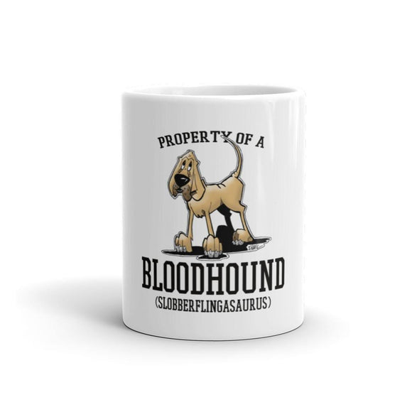 Property of a Bloodhound Mug | The Bloodhound Shop