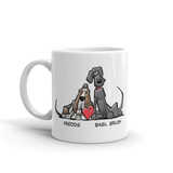 Tim's Freddie/Basil Love Mug - The Bloodhound Shop