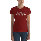 Tim's wrecking Ball Crew Dark Women's short sleeve t-shirt - The Bloodhound Shop