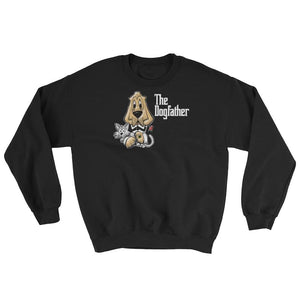 The Dogfather Sweatshirt (Not Hoodie) - The Bloodhound Shop