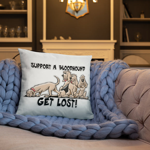 Get Lost 2019 Basic Pillow