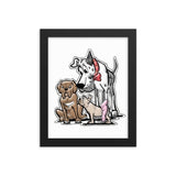 Judge Collection Framed photo paper poster - The Bloodhound Shop