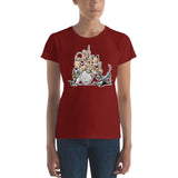 Tim's Wrecking Ball Crew No Names Women's short sleeve t-shirt - The Bloodhound Shop