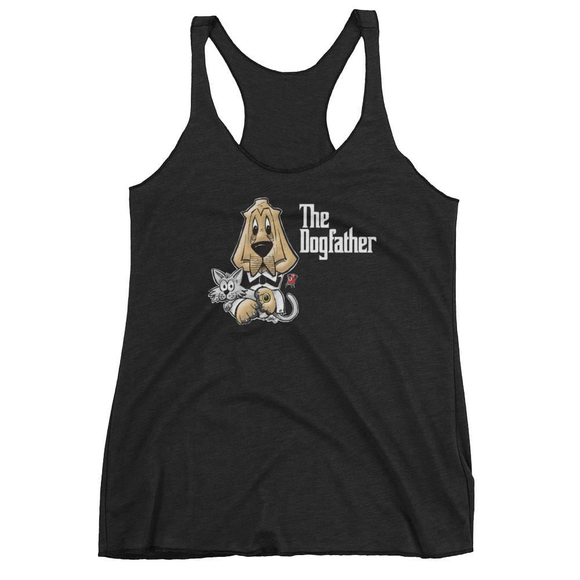The Dogfather Women's tank top (Not Shirt) - The Bloodhound Shop