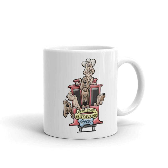BH West Collection Mug - The Bloodhound Shop