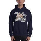 Tim's Wrecking Ball Crew 5 With Names Hooded Sweatshirt - The Bloodhound Shop