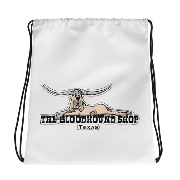 Longhorn Hound Drawstring bag - The Bloodhound Shop