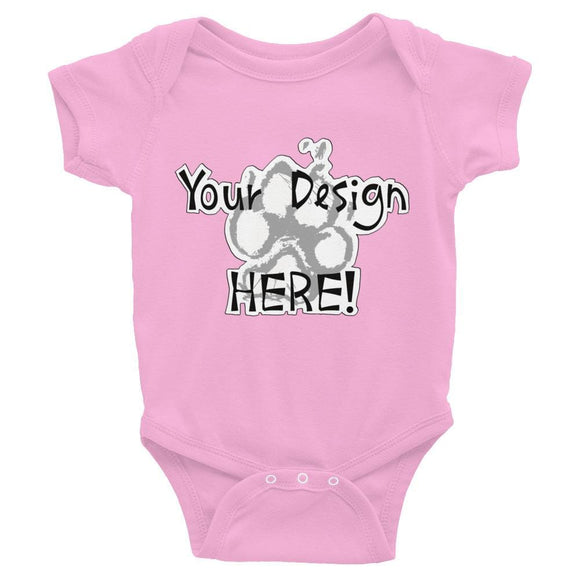 Your Design Here Infant Bodysuit - The Bloodhound Shop