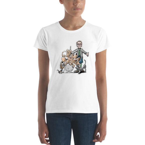 Tim's Wrecking Ball Crew w/ Tim Women's short sleeve t-shirt | The Bloodhound Shop