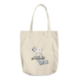Tim's Got Charlie? Cotton Tote Bag
