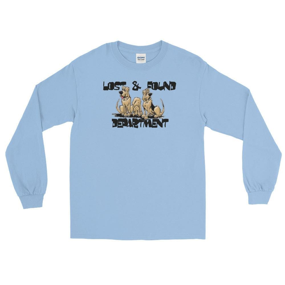 Lost & Found Hounds Long Sleeve T-Shirt - The Bloodhound Shop