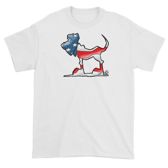 USA Hound Short sleeve t-shirt - The Bloodhound Shop