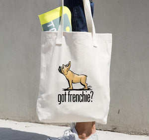 French Bulldog- Tan FBC Tote bag - The Bloodhound Shop