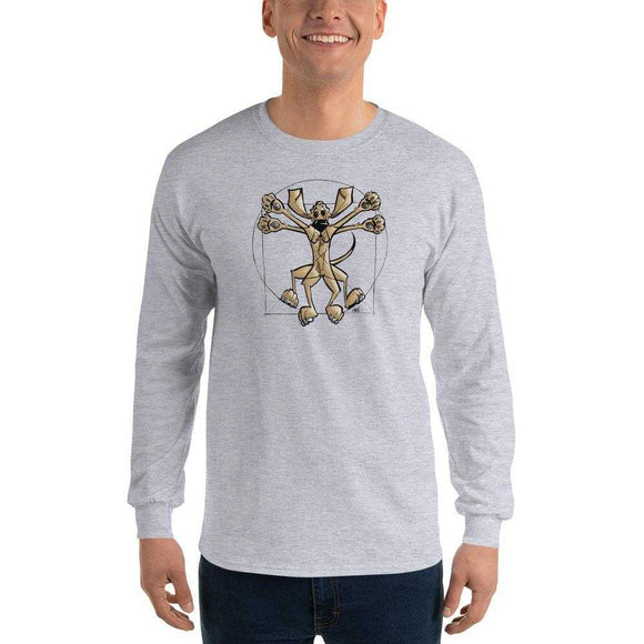 Da Vinci Long Sleeve T-Shirt - The Bloodhound Shop