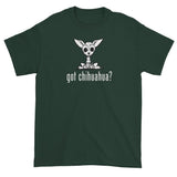 More Dogs Got Chihuahua? Short sleeve t-shirt | The Bloodhound Shop