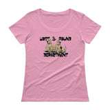 Lost & Found Hound Ladies' Scoopneck T-Shirt - The Bloodhound Shop