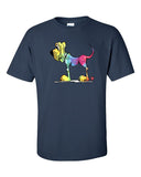 Tie-dye Hound Dark Short sleeve t-shirt