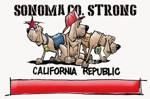 Sonoma Co. Strong DONATION - The Bloodhound Shop
