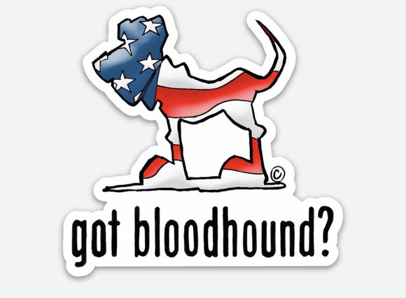 USA Hound 3x3 Inch Magnet - The Bloodhound Shop