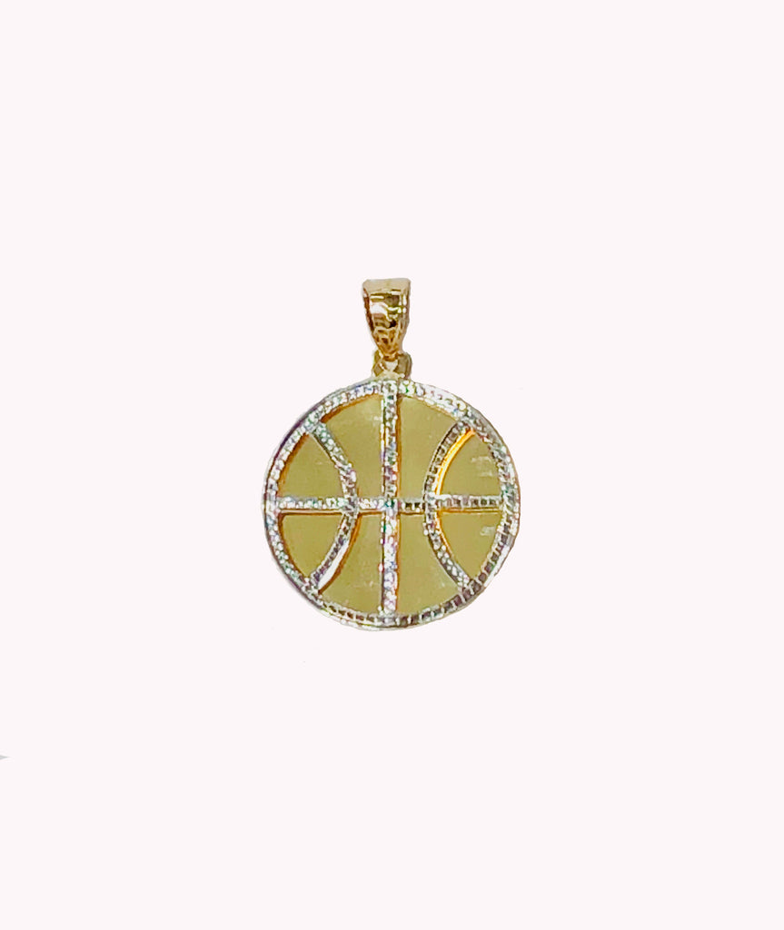 14K T / T Clients Special Maacht Basketball Pendant