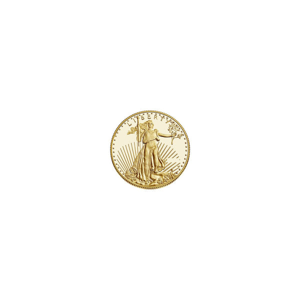 0.5 oz 16.97g 22K Gold American Eagle $25Coin BU Random Year Lady Liberty Rising Sun Torch Olive Branch Capitol Building