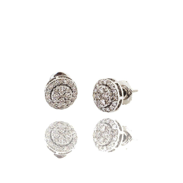 Round Brilliant Diamond Earring (14K)