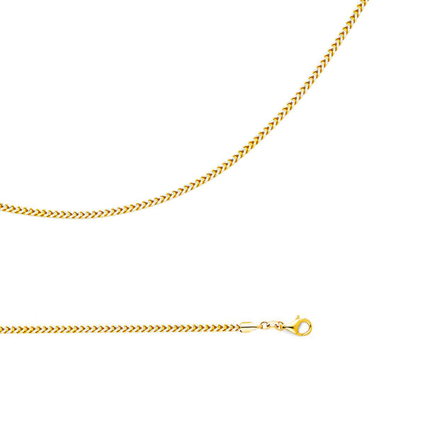 Two-Tone Lightweight Franco Chain (14K)