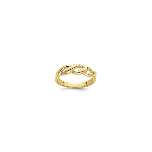 Freeform Braid Ring (14K) main - Popular Jewelry - New York