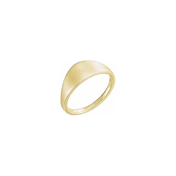 Geometric Signet Ring yellow (14K) main - Popular Jewelry - New York