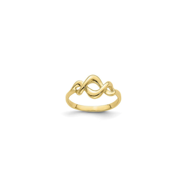 Intertwined Freeform Ring (14K) main - Popular Jewelry - New York