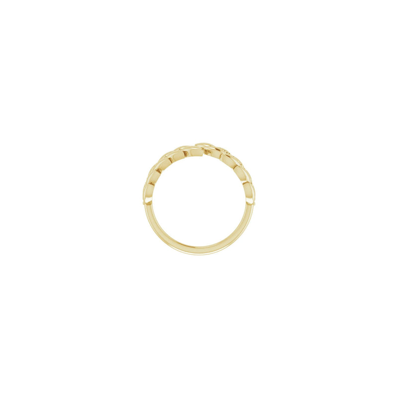 Laurel Wreath Ring yellow (14K) setting - Popular Jewelry - New York