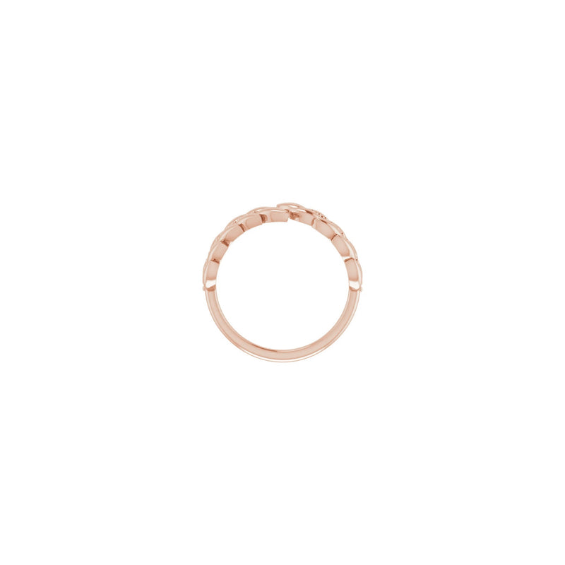 Laurel Wreath Ring rose (14K) setting - Popular Jewelry - New York