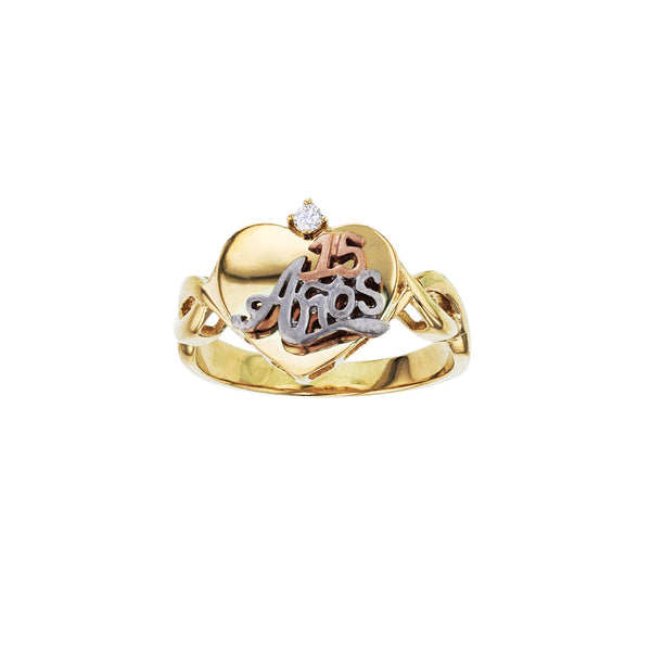 15 Años Love Ring (14K) Popular Jewelry New York