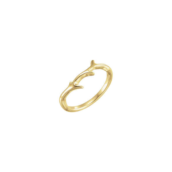 Branch Ring yellow (18K) main - Popular Jewelry - New York
