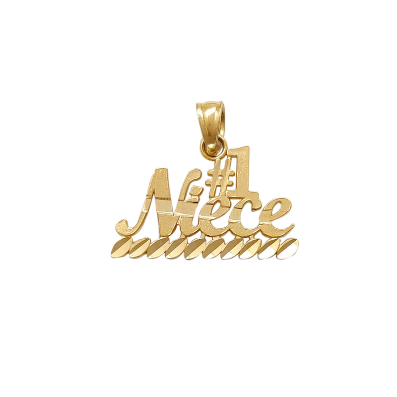 #1 Niece Pendant (14K) Popular Jewelry New York