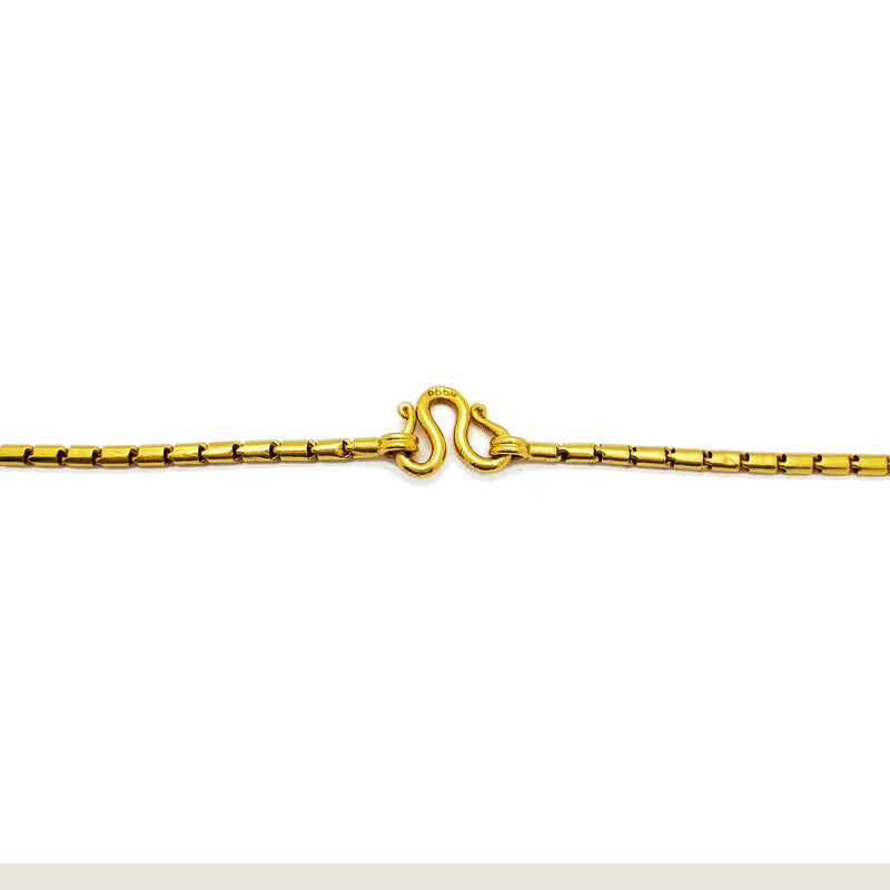 Round Barrel Chain (24K) Popular Jewelry New York