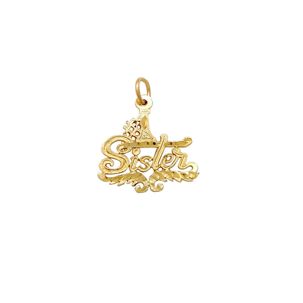 #1 Sister Pendant (14K) Popular Jewelry New York