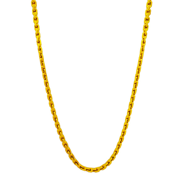 Chain kab solid (24 k) Popular Jewelry New York