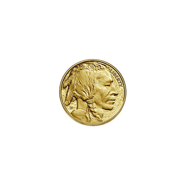 1 oz Gold American Buffalo Coin (Random Year) Fine Gold 24K .9999