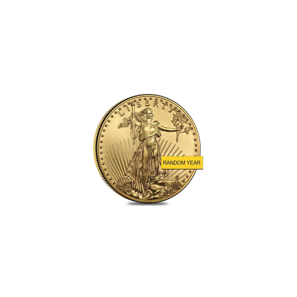 American Eagle Lady Liberty Coin 1 oz (Random Year) Fine Gold 22K - Lucky Diamond 恆福珠寶金行 New York City 169 Canal Street 10013 Jewelry store Playboi Charlie Chinatown @luckydiamondny 2124311180