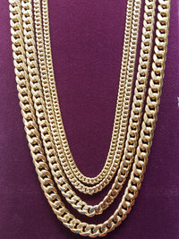 Miami Cuban Link Chainweightweight - Box Lock (10K) - Popular Jewelry - New York